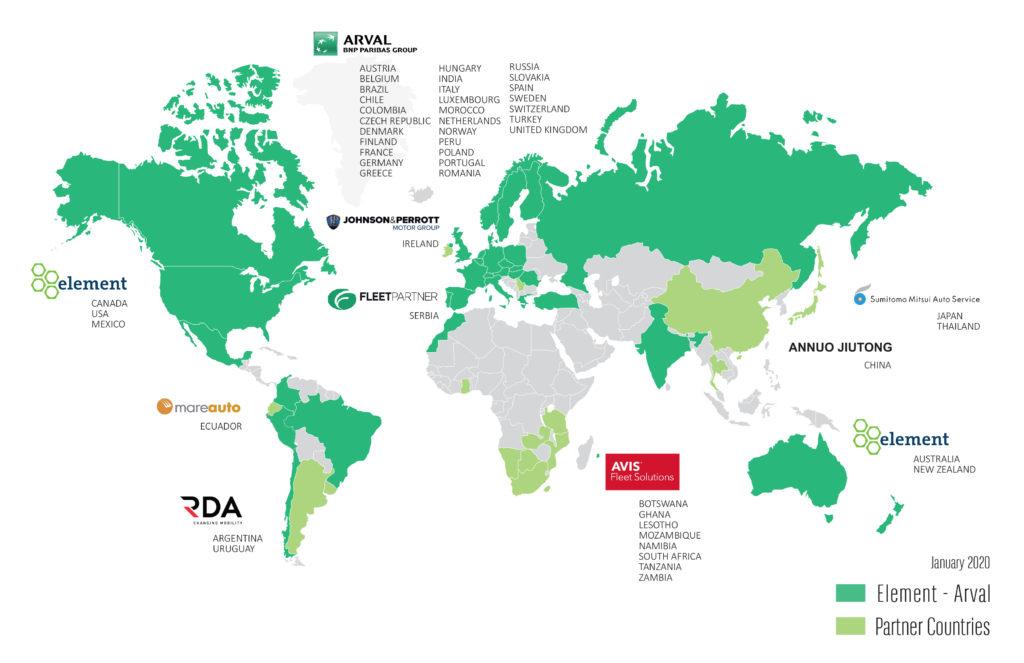 global alliance map